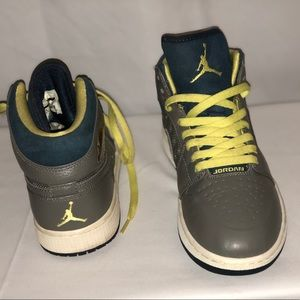 Unique pair of Jordan's. One of a kind. Like new
